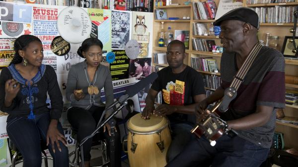 "Oliver ""Tuku"" Mtukudzi performs a Tiny Desk Concert for NPR Music in Washington, D.C."