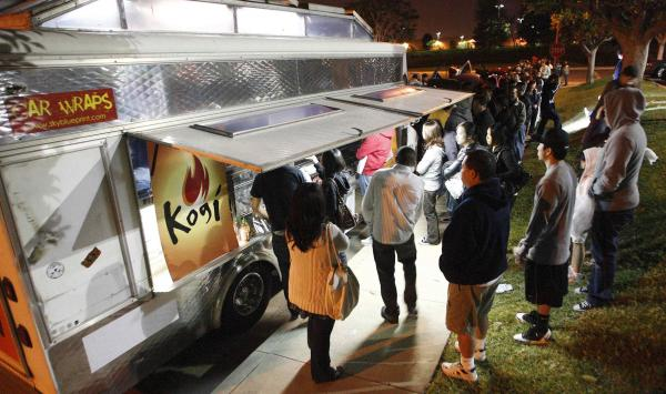 "Kogi food truck chef Roy Choi says he loves L.A. because ""you can be free, you don't have to live up to anyone's expectations or rules."""