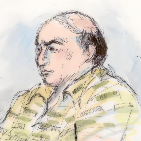Nakoula Basseley Nakoula in a courtroom sketch done on Sept. 27, 2012.