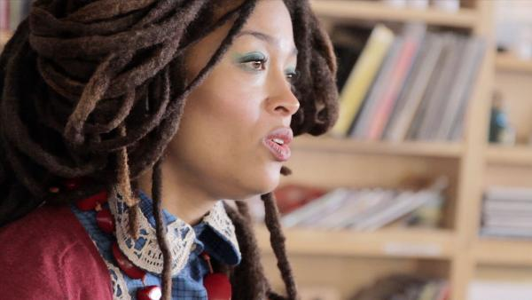 Valerie June performs a Tiny Desk Concert.