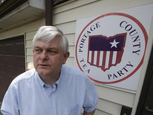 Tom Zawistowski of the Portage County Tea Party in Ohio says his group is now focused on local elections next month.