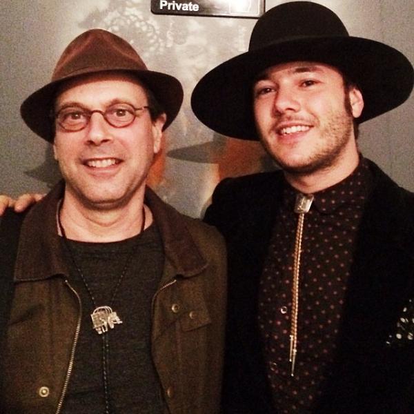 """Brolos with Jimmy Carbonetti of the band Caveman."" <em>- Bob Boilen</em>"