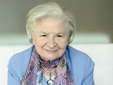 British author P.D. James.