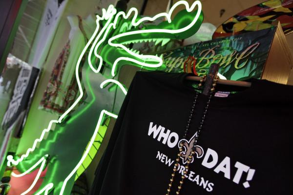 "The phrase ""Who Dat"" is ubiquitous in New Orleans. A Texas-based company says it owns the rights to the phrase, and while homemade signs don't run afoul of its trademark, it says merchandise like T-shirts is another matter."