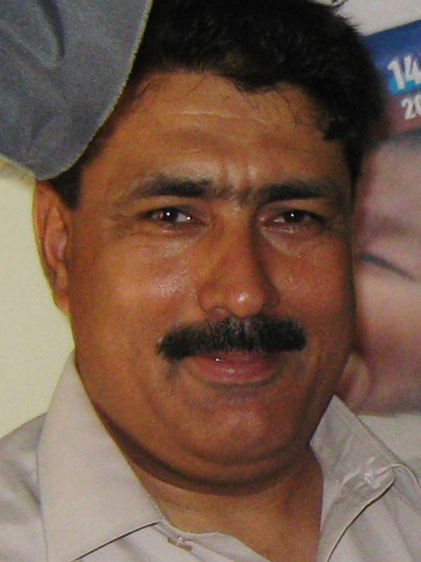 Pakistani doctor Shakil Afridi, in 2010, who has faced legal troubles since he took DNA samples that helped prove Osama bin Laden was in Abbottabad.