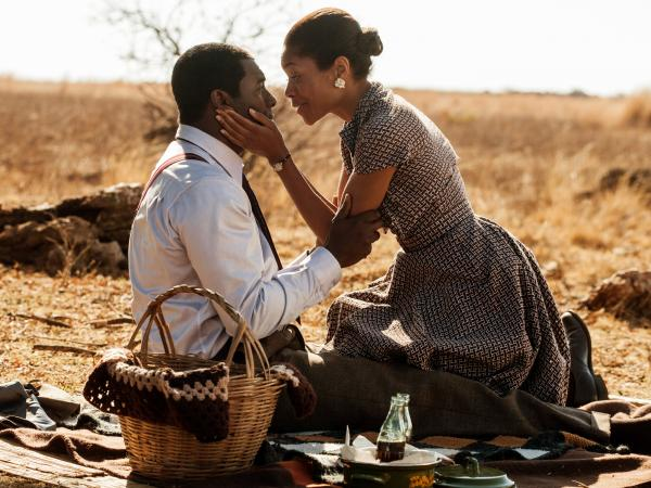 Idris Elba and Naomie Harris star in <em>Mandela: Long Walk To Freedom.</em>