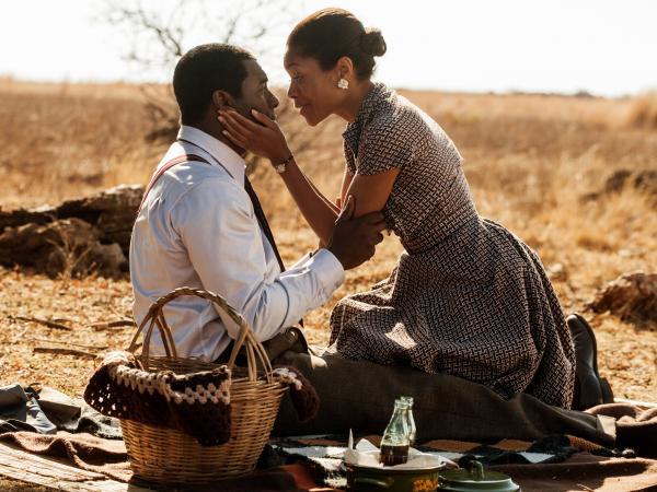 Idris Elba and Naomie Harris star in <em>Mandela: Long Walk To Freedom.</em>