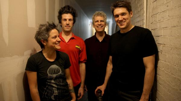 <em>The Stars Look Very Different Today,</em> the new album from bassist and composer Ben Allison (far right) and his band,<em> </em>comes out Dec. 3.