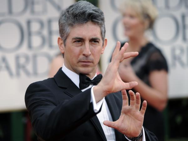 Alexander Payne arrives at the 69th annual Golden Globe Awards in 2012.