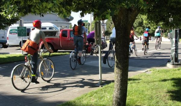 A new report on U.S. transportation trends shows Portland had the biggest increase in percentage of workers who biked to work.