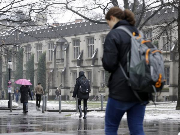 The Ivy League school has begun vaccinating nearly 6,000 students to try to stop an outbreak of type B meningitis in an unusual federal government-endorsed administration of a drug not generally approved for use in the U.S.