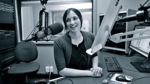 Cindy Howes, host of <em>Morning Mix</em> on WYEP in Pittsburgh.
