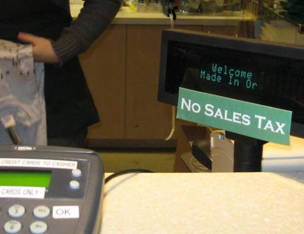 File photo. Oregon is one of five states without a sales tax.