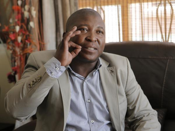 Thamsanqa Jantjie, whose appearance at a memorial service for Nelson Mandela angered many in South Africa's deaf community and has led to an apology from the government. His sign language interpretation was just meaningless gestures, say those who understand that language.