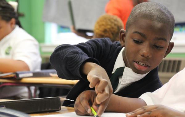 Ka'nard Allen, twice a victim of gun violence, started at a new this fall in New Orleans. Administrators say he's just like any other fifth-grader, despite all the adversity he's faced in his life.