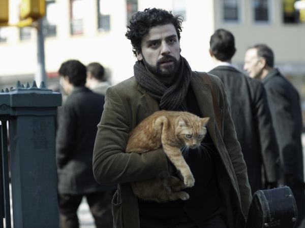 "An orange tabby cat co-stars alongside Oscar Isaac in the Coen brothers' <em>Inside Llewyn Davis. </em>""The whole exercise of shooting a cat is pretty nightmarish because they don't care about anything,"" Ethan Coen says."