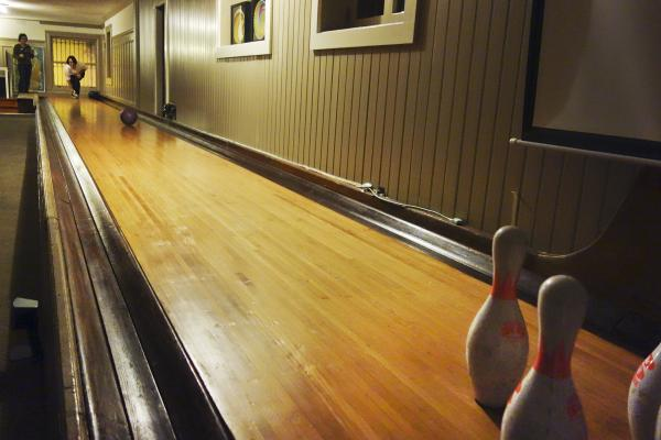 San Francisco's Embassy House has an early 1900s-style bowling alley in the basement.