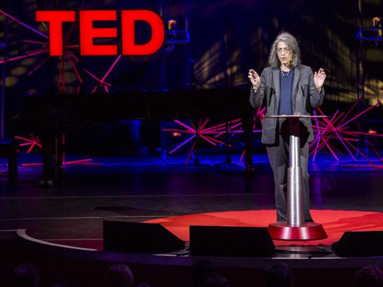 Elyn Saks, mental health law scholar, speaking at the TEDGlobal conference.