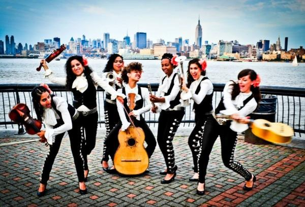 Flor De Toloache is New York City's premier (and perhaps only) all-female mariachi group.