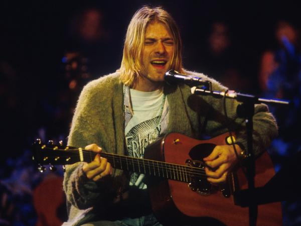 Nirvana front man Kurt Cobain in 1993. He took his own life in 1994.