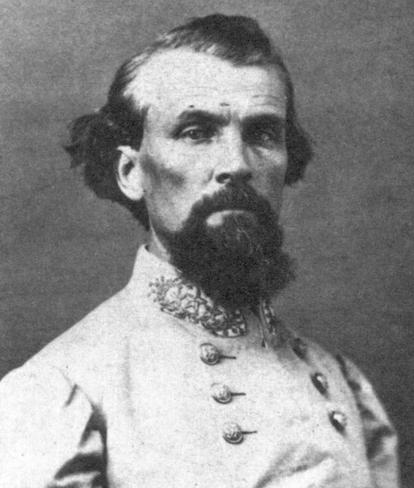 Confederate general Nathan B. Forrest.