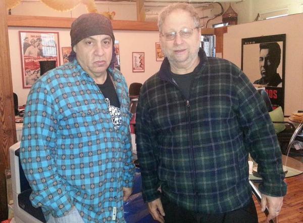 Steven Van Zandt and Danny Schechter (Jon Kalish)