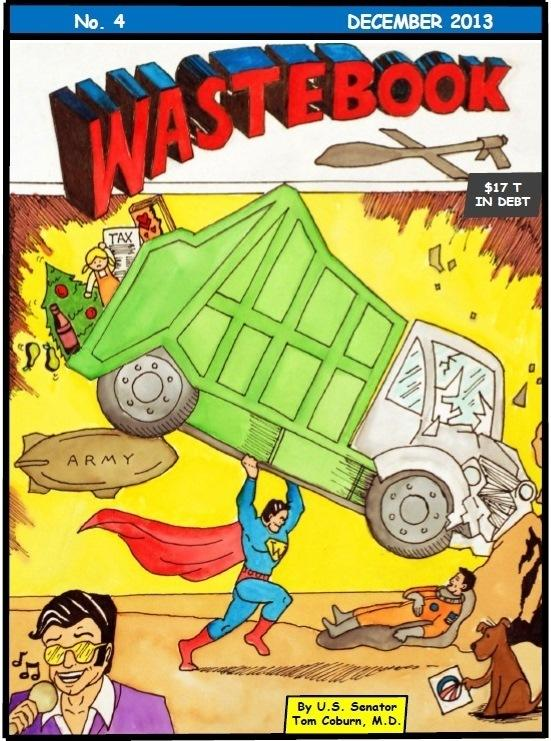 Sen. Tom Coburn, R-Okla., issues his Wastebook each year.