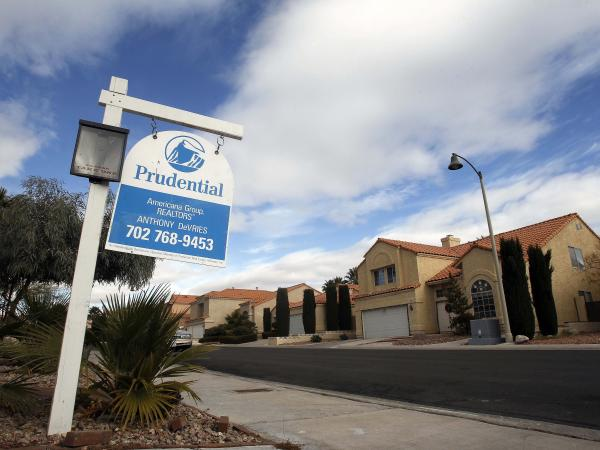 A realty sign in front of a home in The Lakes neighborhood in Las Vegas. Nevada, which was hit hard by the housing bust five years ago, remains the state with the highest number of homes with negative equity.