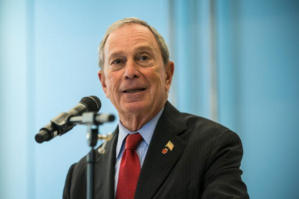 New York City Mayor Michael Bloomberg speaks at the opening of the New York Genome Center on Sept. 19 in New York City.