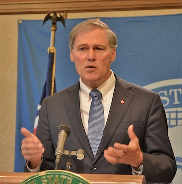 File photo of Washington Governor Jay Inslee