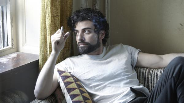 Oscar Isaac as the titular character in the upcoming Coen Brothers film <em>Inside Llewyn Davis</em>.