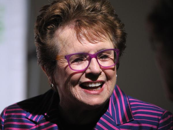 "Billie Jean King <a href=""http://cnnpressroom.blogs.cnn.com/2013/12/19/camanpour-exclusive-billiejeanking-to-gay-russians-you-are-not-alone/"">spoke with CNN</a> after being named to the delegation, saying  ""I'm very proud to go as an athlete, and as a gay woman."""