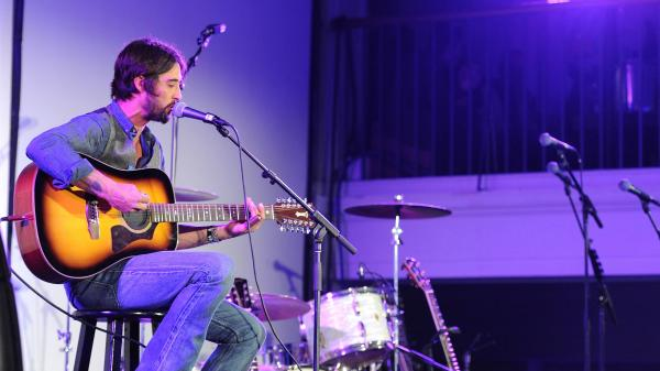 Ryan Bingham performs at Autism Speaks' third Annual Blue Jean Ball on Oct. 24 in Los Angeles.