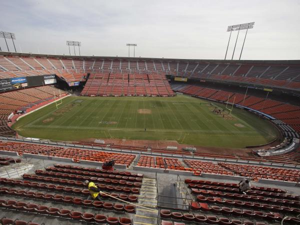 Candlestick Park in San Francisco is closing after more than 50 years of sports memories. The San Francisco 49ers are about to play their last NFL game at the stadium they have called home since 1971. Candlestick Park was also home to baseball's Giants from 1960 to 1999.