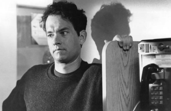 "Tom Hanks as Andrew Beckett in the 1993 film, ""Philadelphia."" (Clinica Estetico via WHYY)"