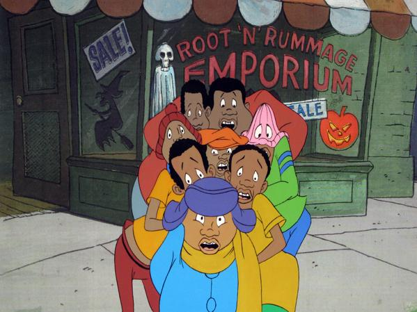 An original production cel for <em>Fat Albert and the Cosby Kids.</em>