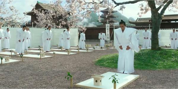 Oregon-grown plants were used to re-create 18th Century Japan in scenes like this one from the movie '47 Ronin.'