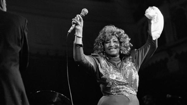 "The late Celia Cruz's version of ""Jingle Bells"" is featured on Tuesday's <em>Latin Roots</em> playlist."