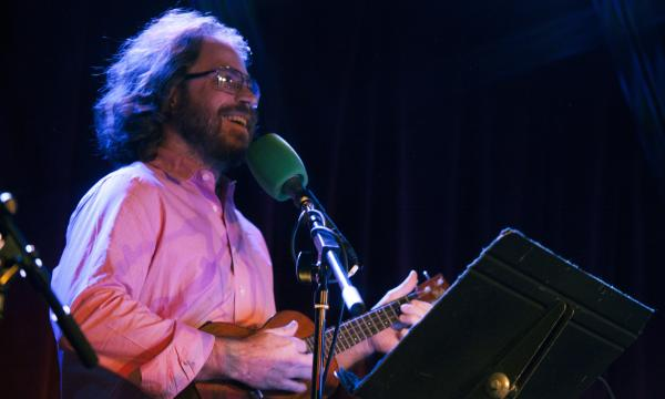 Jonathan Coulton performs live from the <em>Ask Me Another </em>stage at The Bell House in Brooklyn, NY.