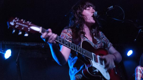 Courtney Barnett performs at the Mercury Lounge in New York City during the CMJ Music Festival in October.