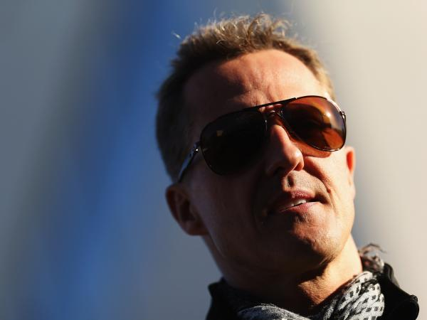 Race car driver Michael Schumacher in November 2012.