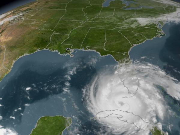 Sept. 2005: Hurricane Rita enters the Gulf of Mexico — or Gulf of America, as Mississippi House Rep. Stephen Holland would say.