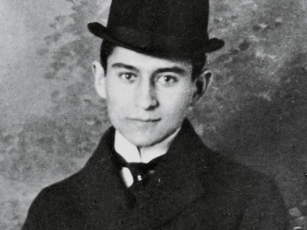 Franz Kafka (shown here circa 1905) is considered one of the 20th century's most influential writers. Before his death in 1924, he had published only short stories and a single novella, <em>The Metamorphosis</em>.