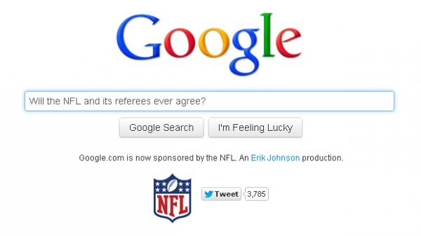 A spoof site launched by Erik Johnson pretends to offer Google's search engine — if it were run by replacements.