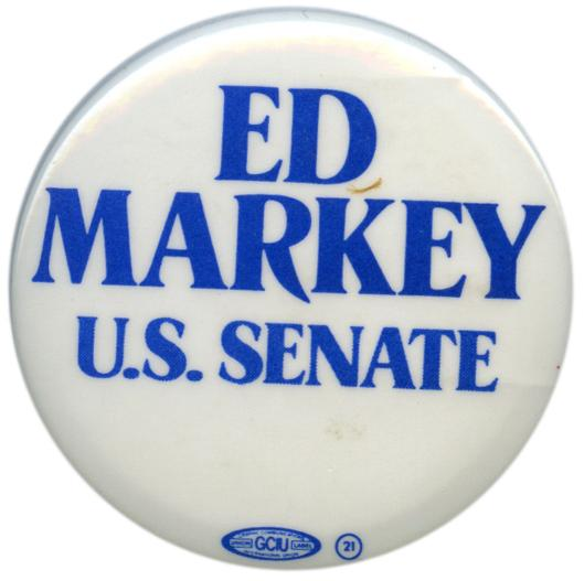 Markey was briefly a Senate candidate in 1984.  This time he's in for real.