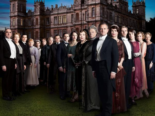 The cast of Season 3 of the worldwide smash series <em>Downton Abbey</em>.