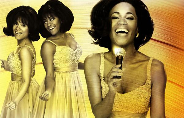 Valisia LeKae, Sydney Morton and Ariana Debose play the Supremes in the show.