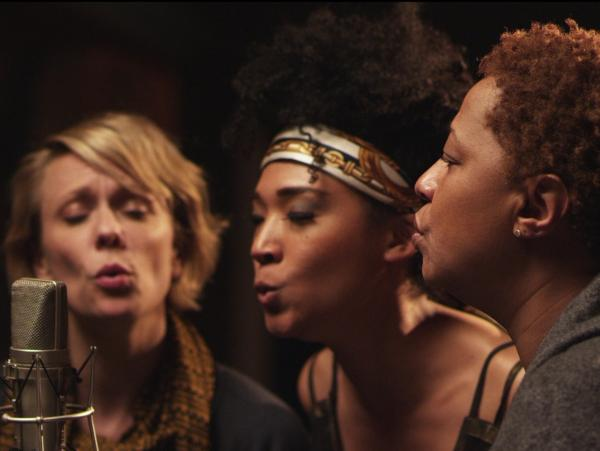Jo Lawry, Judith Hill and Lisa Fischer are three of the backup singers profiled in the new documentary <em>20 Feet From Stardom.</em>