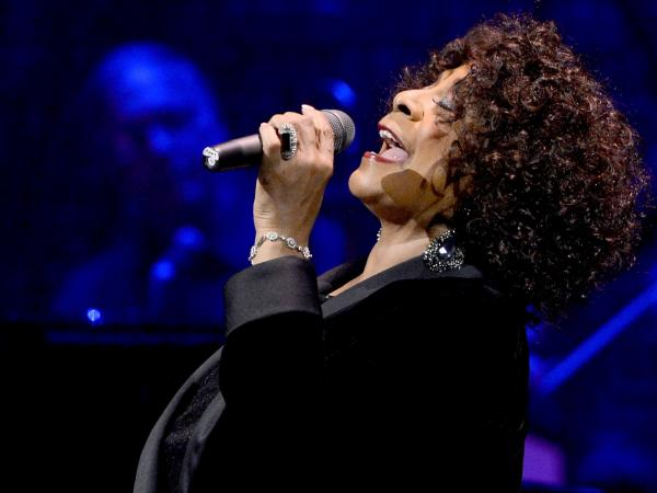 Singer Merry Clayton performs in Hollywood during a celebration of Carole King and her music.
