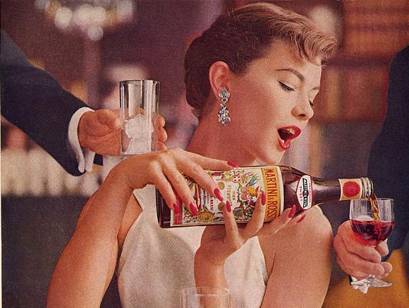 Martini & Rossi vermouth ad, 1960